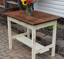 gypsum farm table
