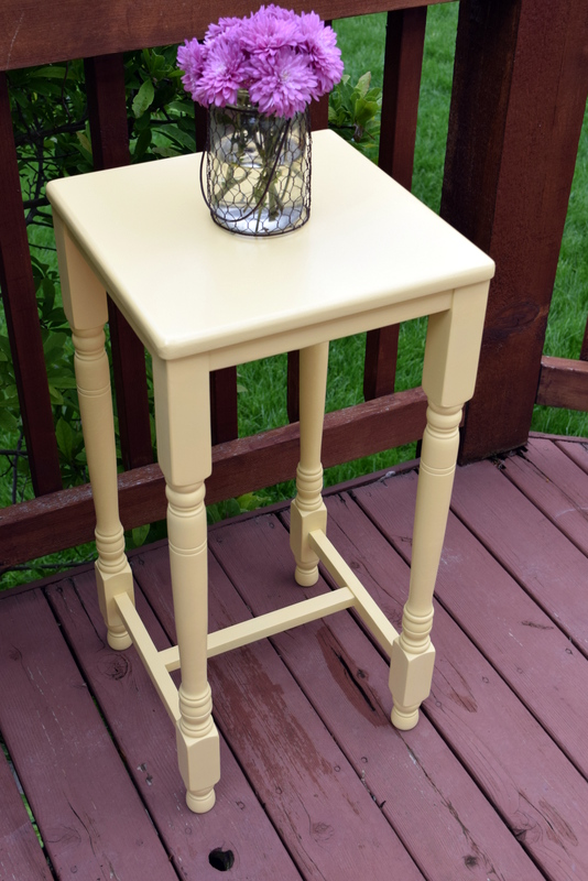 buttermilk yellow table