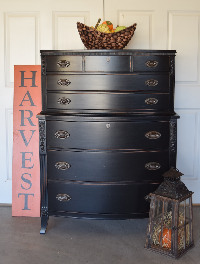 lamp black chest of drawers