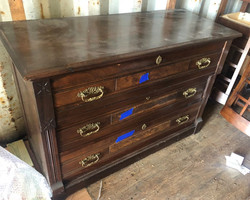 item 575 - antique dresser