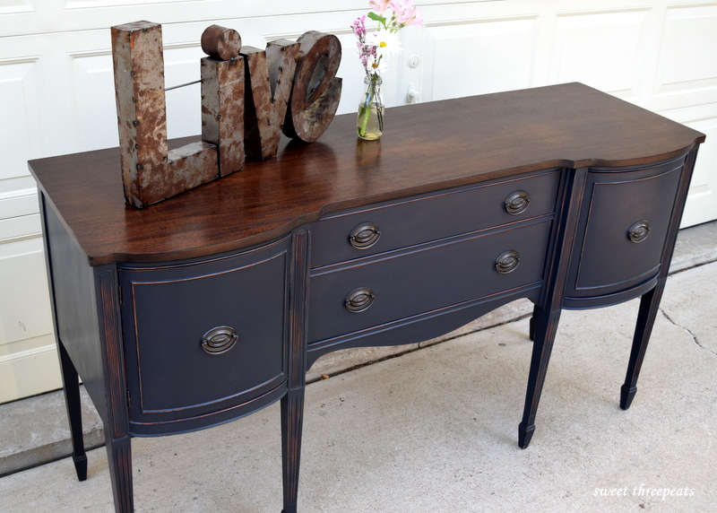 custom charcoal buffet