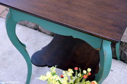 custom mix shamrock green table
