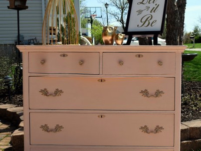 classy makeover for an antique set