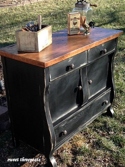 general finishes milk paint buffet