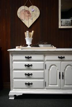 alabaster dresser/buffet