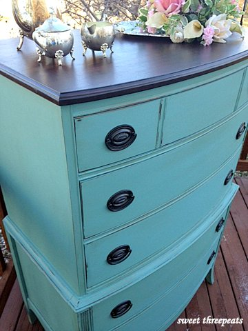 tall chest -  provence chalk paint