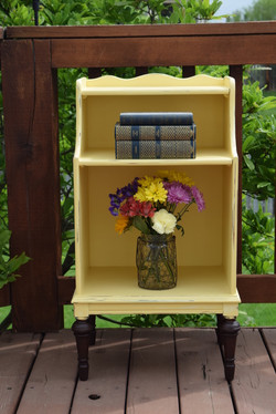 buttermilk yellow night stand