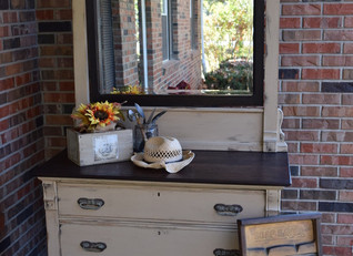 new life for an 1800's dresser