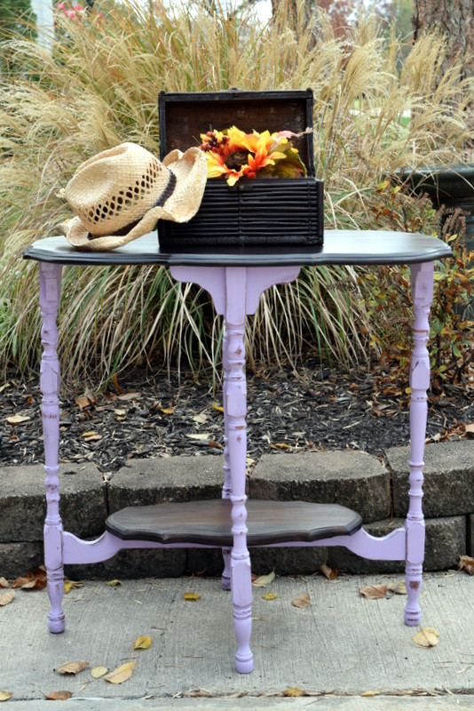 custom lavender table