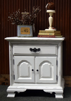 alabaster night stand