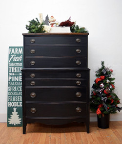 lamp black classic highboy