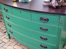 custom color dresser/buffet