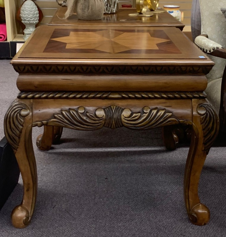 item 536 & 537 - end tables