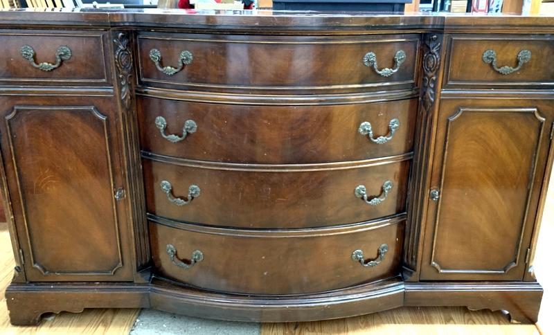 item 513 - antique buffet