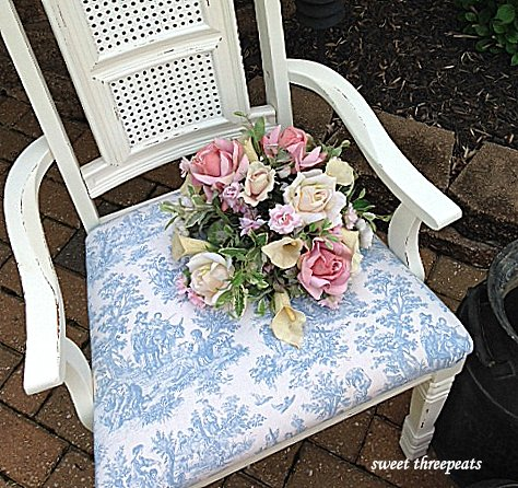 custom paint color upholstered chair