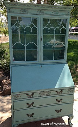 antique secretary in provence
