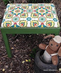 cliveden green child's bench