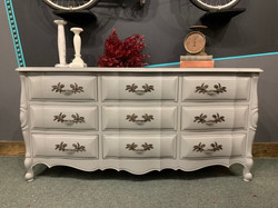 dresser in perfect gray