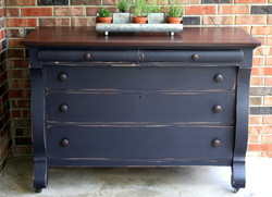 navy farmhouse buffet