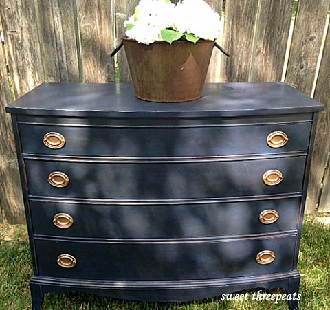 general finishes coastal blue chest
