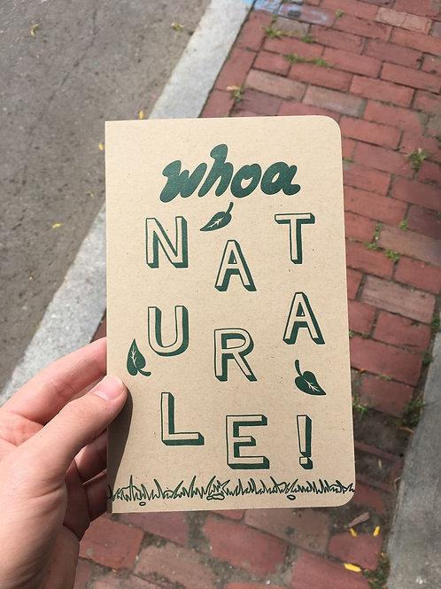 Whoa Naturale! Sketchbook