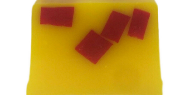 Rhubarb & Custard Scented Soap | Vegan | SLS Free