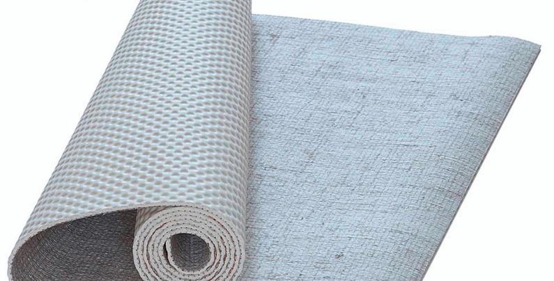 NATURAL TRAVEL SIZE EcoYoga Sustainable Jute Yoga Mat | 2mm