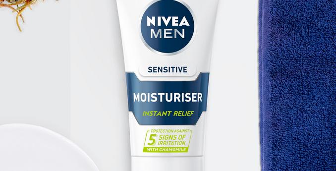 Nivea Men *Sensitive* Moisturiser | 75ml | 0% ALCOHOL