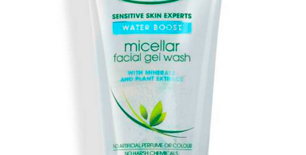 Simple VEGAN Micellar Facial Gel Wash | Water Boost | 150ml