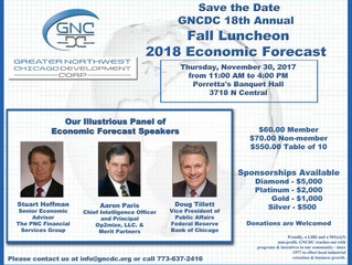 GNCDC 18th Annual Fall Luncheon         2018 Economic Forecast