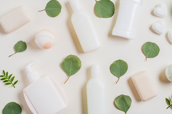 overhead-view-cosmetics-products-soap-ba