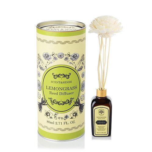 ก้านกระจายกลิ่นหอมกลิ่นตะไคร้หอม (Lemongrass Reed Diffusser)