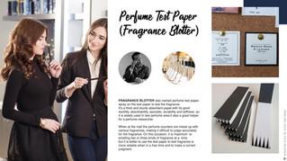 Perfume Test Paper (Fragrance Blotter)