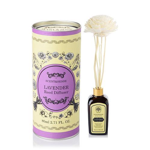 ก้านกระจายกลิ่นหอมดอกลาเวนเดอร์ (Lavender Reed Diffusser)