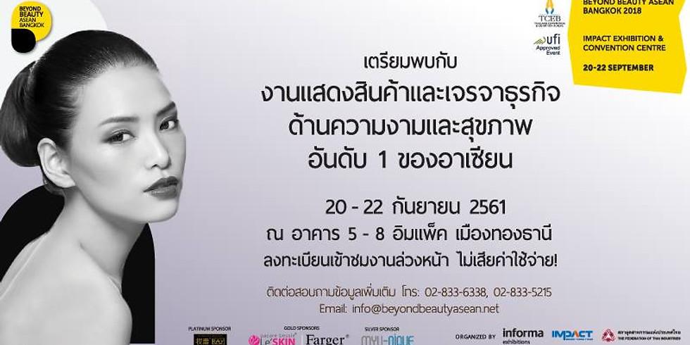 Beyond Beauty Asean-Bangkok 2018