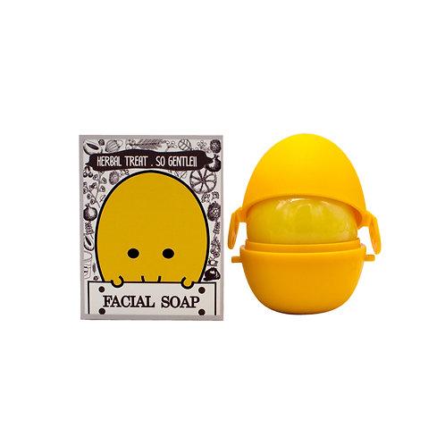 สบู่บำรุงผิวหน้าขมิ้นน้ำผึ้ง (Turmeric & Honey Facial Soap)
