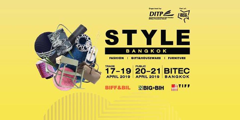 STYLE Bangkok Fair 2019