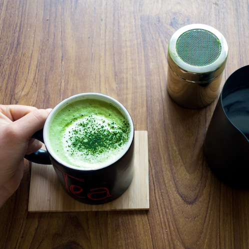 Image result for This is perfect for our concentration matcha tea