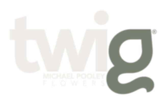 Twig Michael Pooley Flowers logo trademark