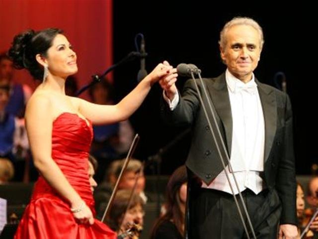 With José Carreras