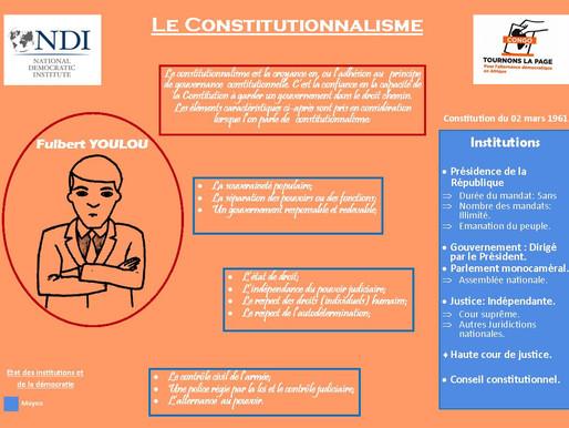 Étude des constitutions de la République du Congo: