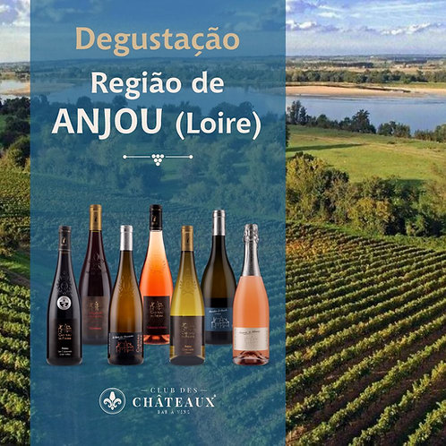 Degustação para Apaixonados - Região de Anjou - Loire