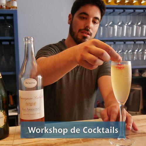 Workshop de Cocktails - Aprenda a fazer e prove!