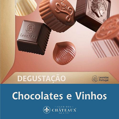 Degustação de Sabores - Chocolates e Vinhos