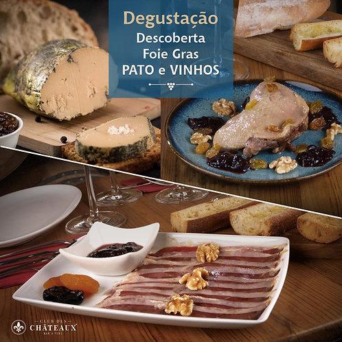 Degustação/Descoberta -  Especialidades de Pato e Vinhos