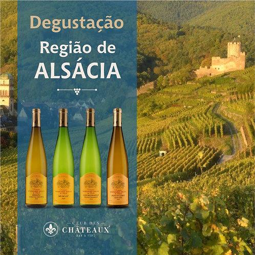 Degustação para Apaixonados - Região de Alsácia