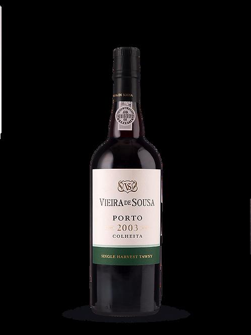 Vinho do Porto Vieira de Sousa, Colheita 2003 - tinto