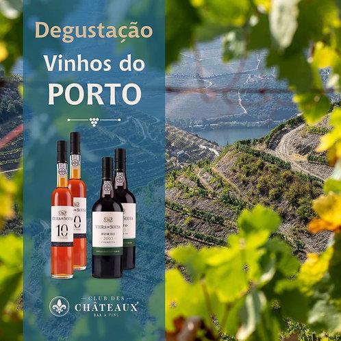 Degustação para Apaixonados  - Vinhos do Porto