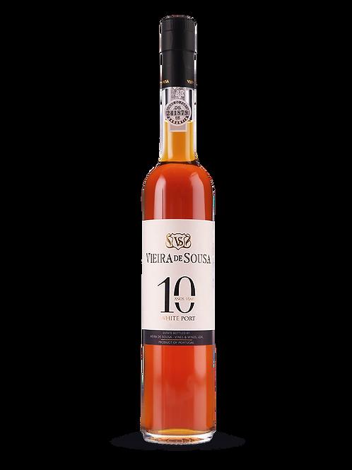Vinho do Porto Vieira de Sousa 10 Anos - branco