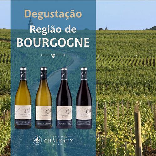 Degustação para Apaixonados  - Região de Bourgogne